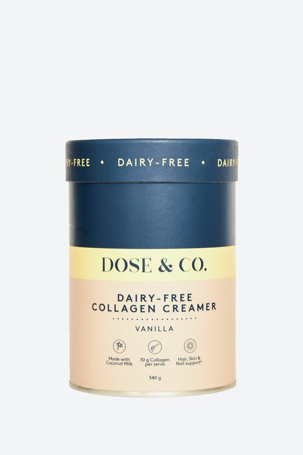 Dose & Co Dairy Free Collagen Creamer Vanilla 340g