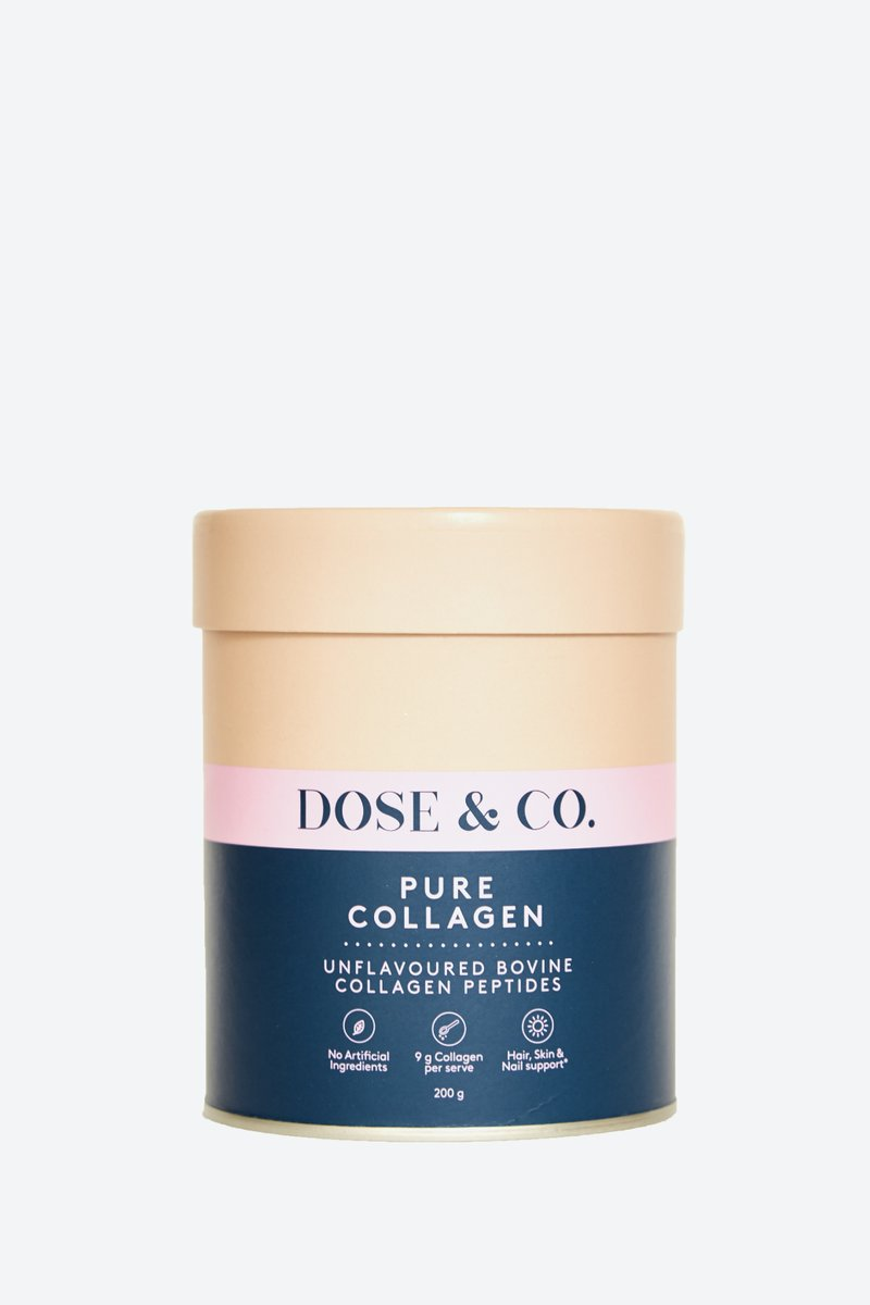 Dose & Co Pure Collagen Powder Unflavored  200g
