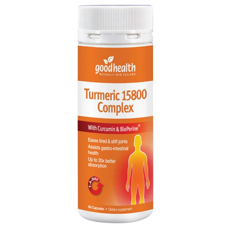 Good Health Turmeric 15800 Complex 60caps