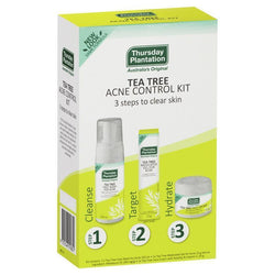 THURSDAY PLANTATION Tea Tree Clear Skin & Acne Kit