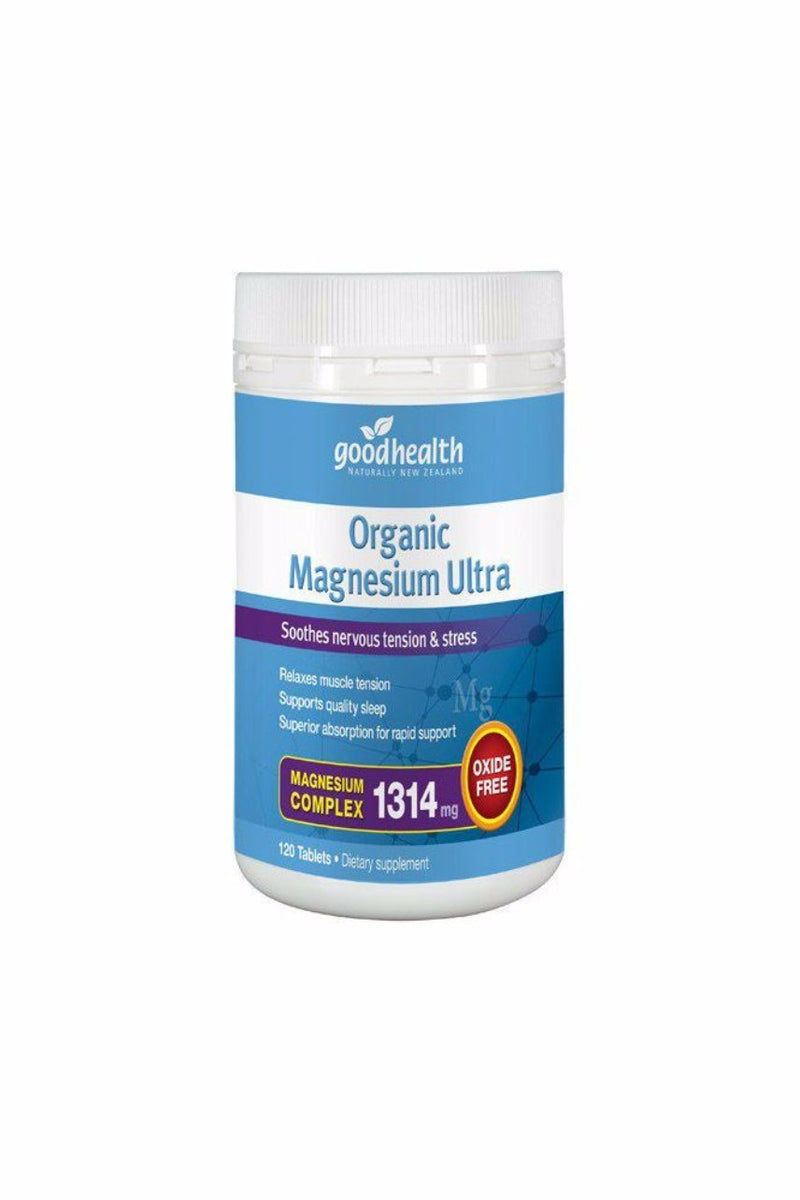 Good Health Magnesium Ultra Organic 120tab