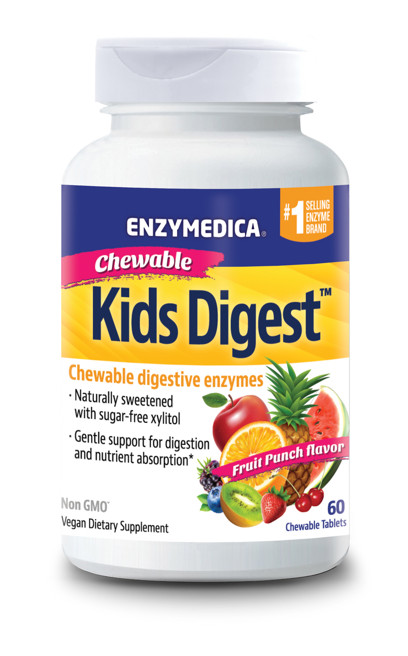 ENZYMEDICA Kids Digest Chewables 30