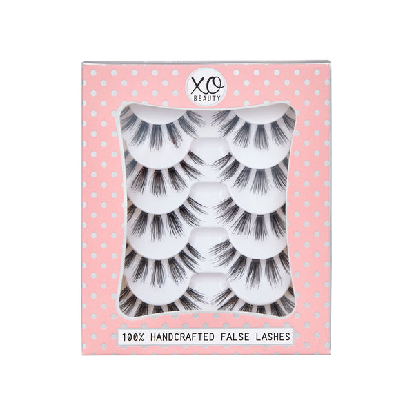 xoBeauty False Lashes Chic 5pk