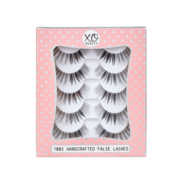 xoBeauty False Lashes Gold Digger 5pk