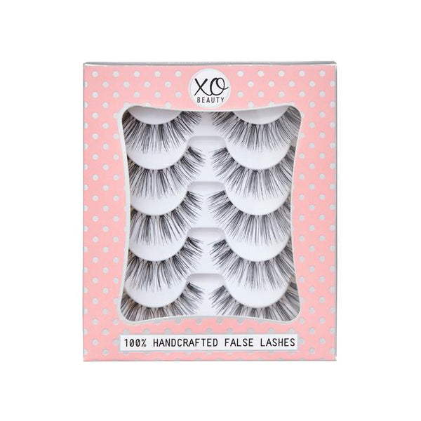 xoBeauty False Lashes Romantic 5pk