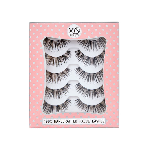 xoBeauty False Lashes Soulmate 5pk