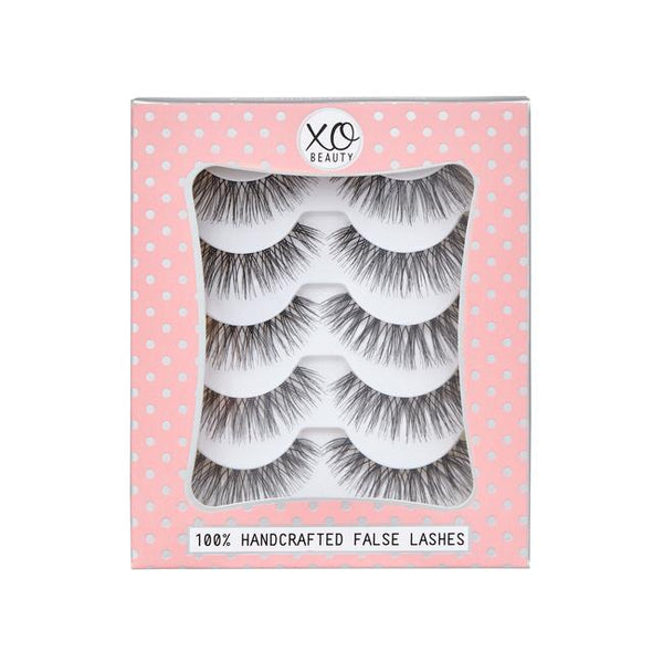 xoBeauty False Lashes Wanderlust 5pk