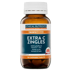Ethical Nutrients Extra C Zingles Berry 50tabs