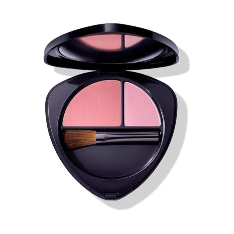 Dr. Hauschka Blush Duo 02 Dewy Peach 5.7g