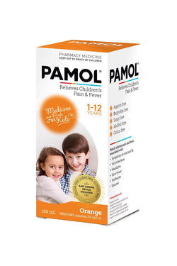 PAMOL All Ages Orange C/F 100ml