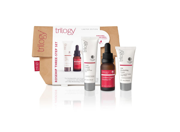 TRILOGY Rosehip 3 Step Set Xmas20