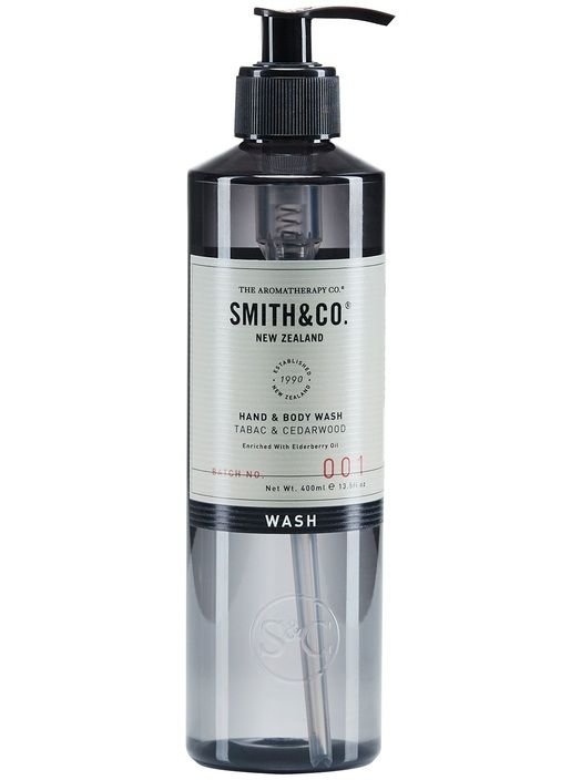 Smith&Co Hand & Body Wash Tabac Cedarwood 400ml