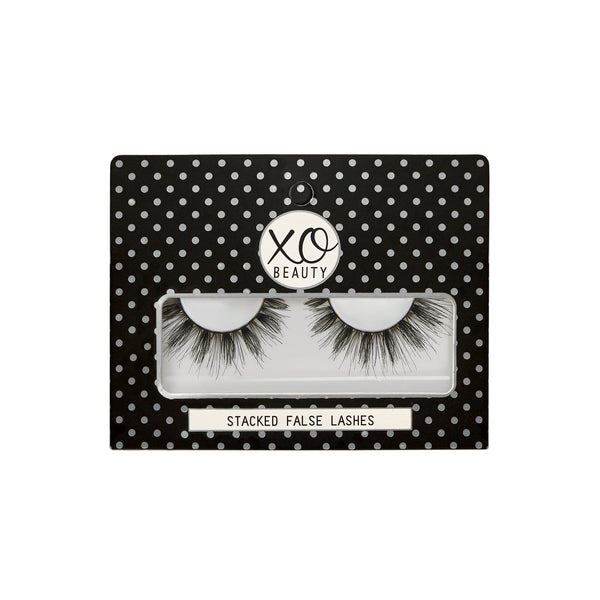 xoBeauty Stacked Lashes The Tease