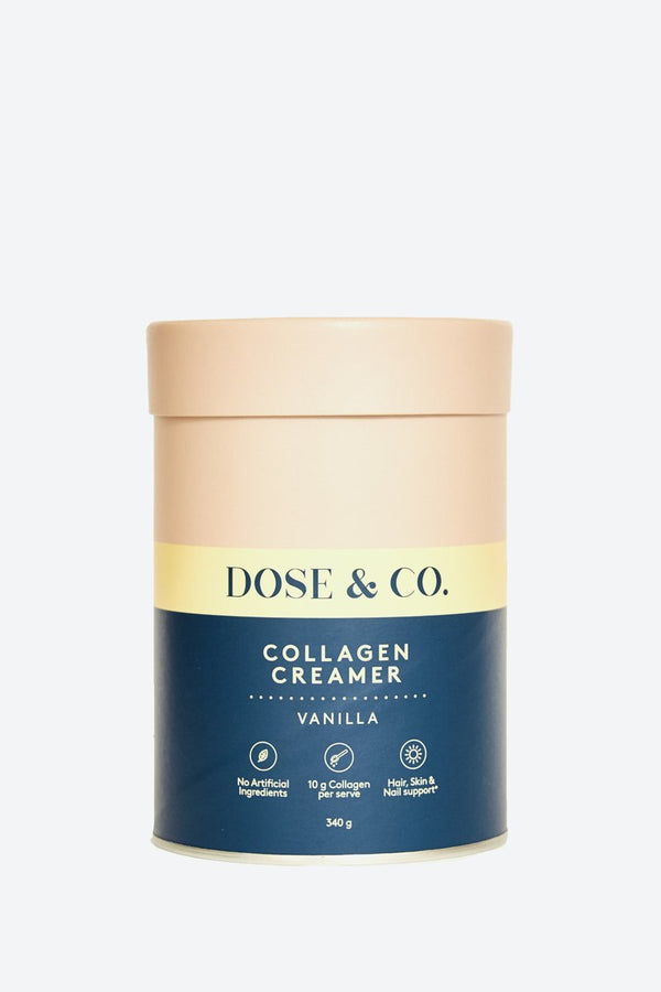 Dose & Co Collagen Creamer Vanilla 340g