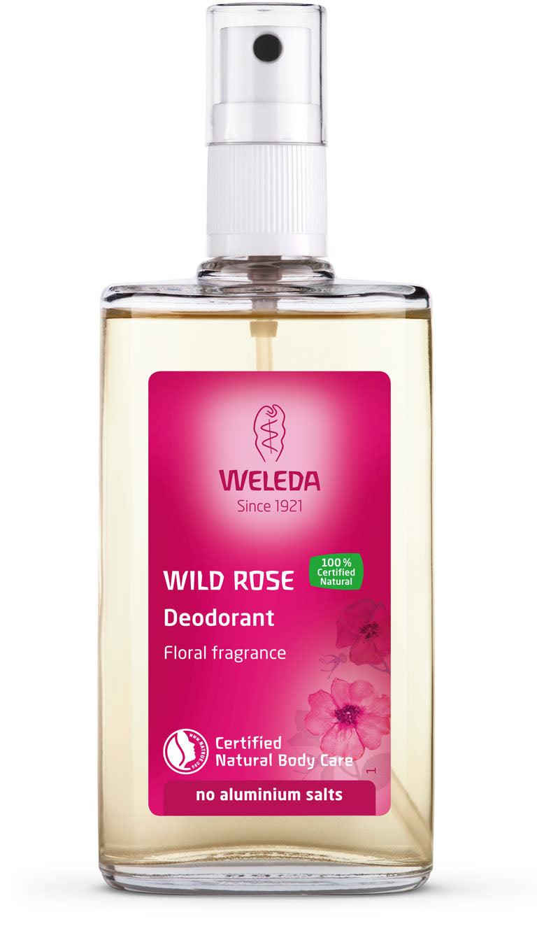 WELEDA Wild Rose Spray Deodorant 100ml