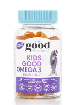 GVC Kids Good O/L Omega 3 + Iron 90s