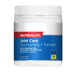 Nutra-Life Joint Care 1-a-Day Glucosamine +Turmeric 120 caps