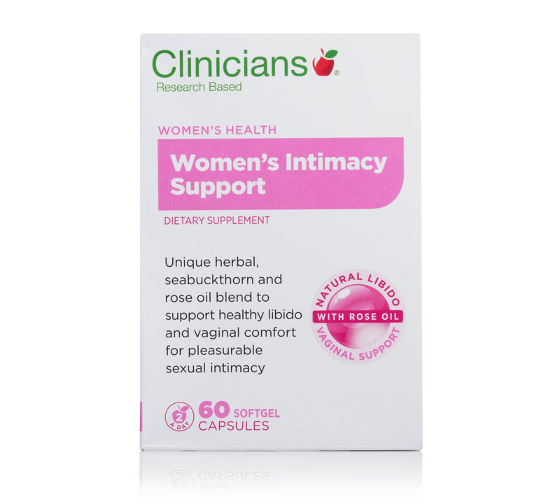 CLINICIANS Women's Intimacy Support 60 Capsules