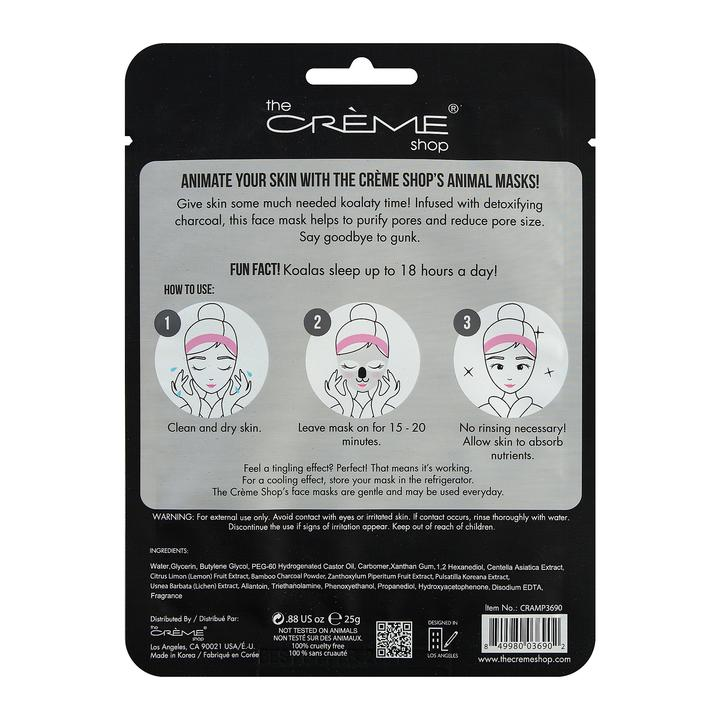 The Creme Shop Face Mask Clean Up Skin Charcoal