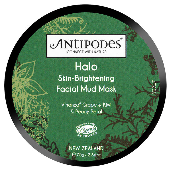 ANTIPODES Halo Brightening Mud Mask 75g