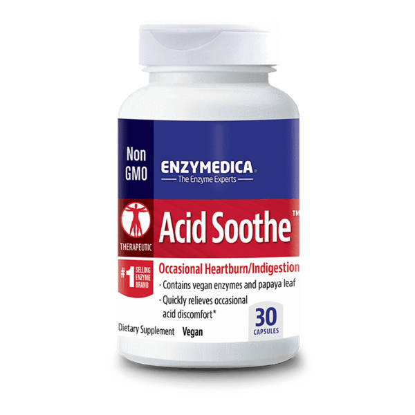 ENZYMEDICA Acid Soothe 30caps