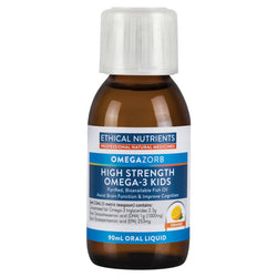 Ethical Nutrients Hi-Strength Liquid Fish Oil Kid Orange 90ml