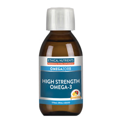 Ethical Nutrients Hi-Strength Liquid Fish Oil Fruit 170ml