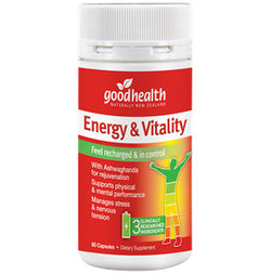 GOOD HEALTH Energy & Vitality Support 30 Capsules