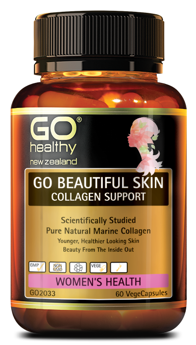 GO Beautiful Skin Collagen Support 60vcaps