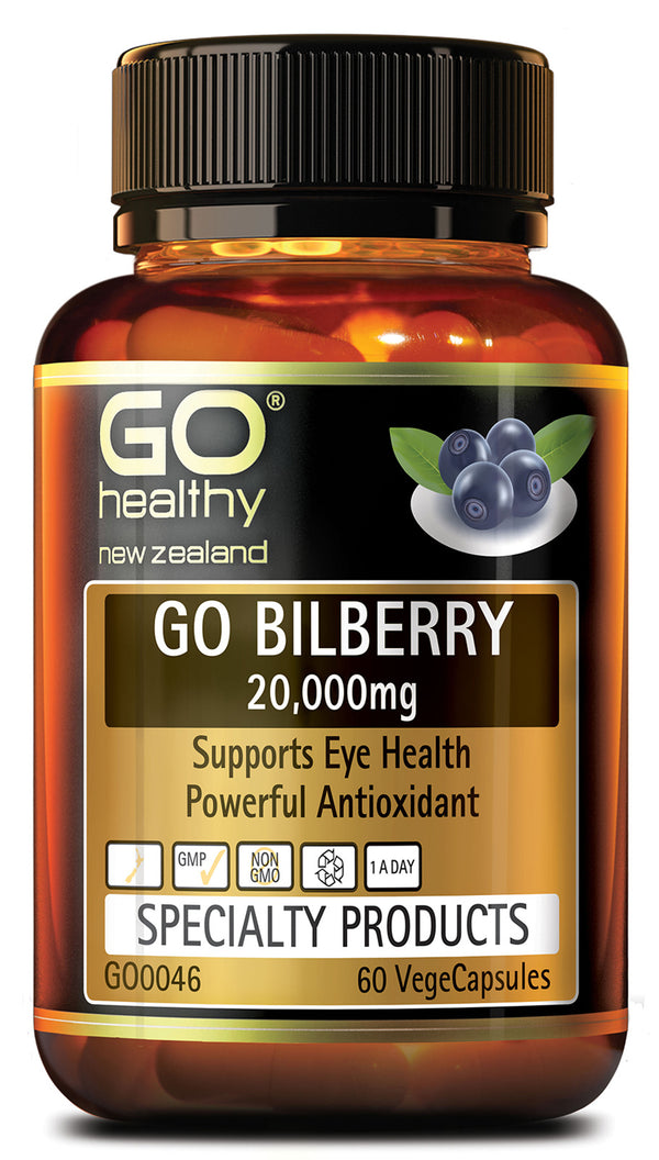 GO Bilberry 20000mg 60vcaps