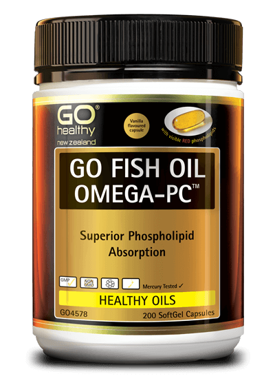 GO Fish Oil 1550mg Adv.Omega PC 200
