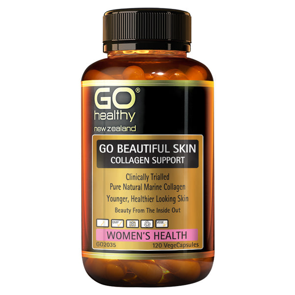 GO Beautiful Skin Collagen Support 120vcaps
