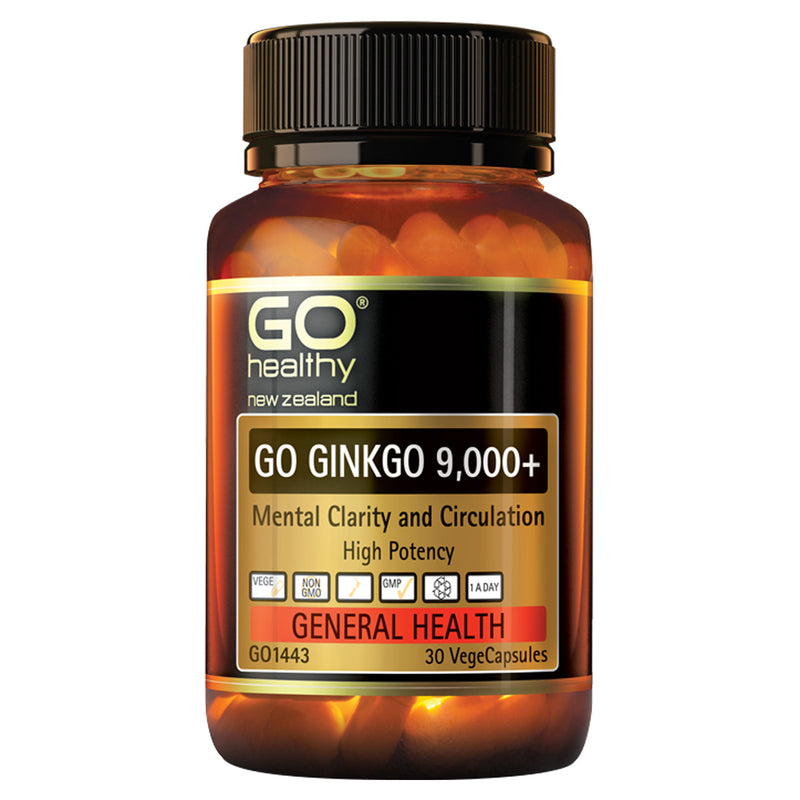 GO Ginkgo 9000+ 30vcaps