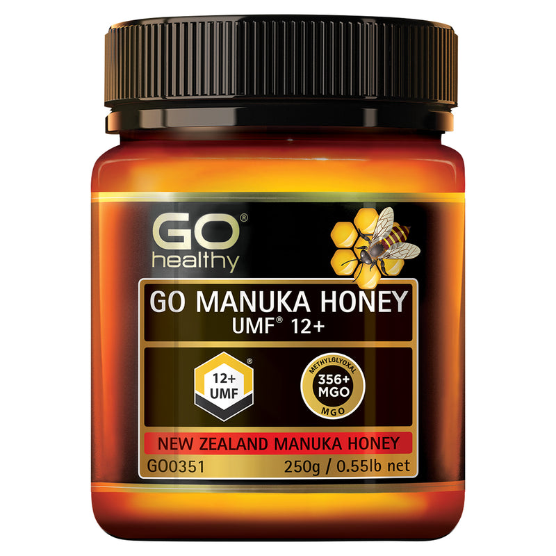 GO Manuka Honey UMF 12+ 250g