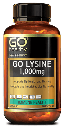 GO Lysine 1000mg 60caps