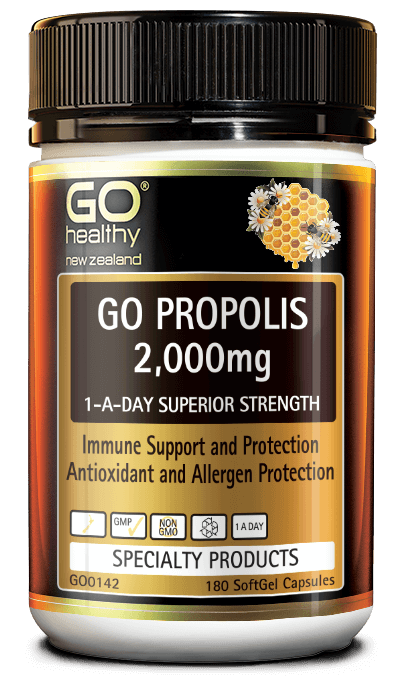 GO Propolis 2000mg 1-A-Day 180caps