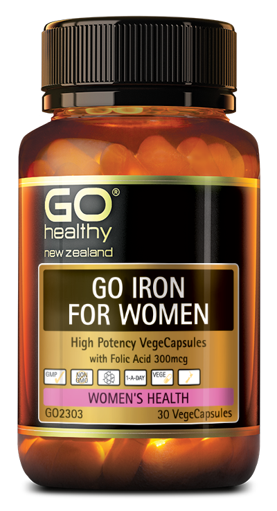 GO Iron for Women 30vcaps