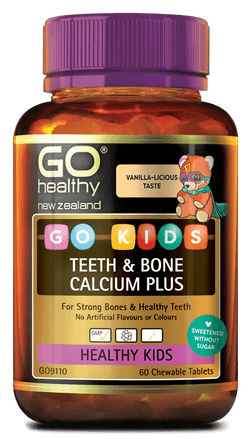 GO Kids Teeth/Bone Calcium+ 60 Chew