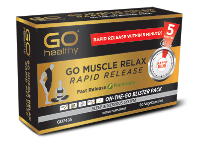 GO Muscle Relax Rapid Release 30vcaps