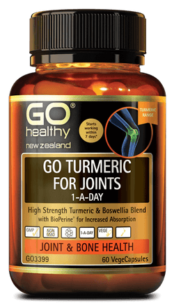 GO Turmeric for Joints 1ADay 60Vcap