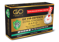 GO Vir Defence Rapid E/Str. 30vcaps