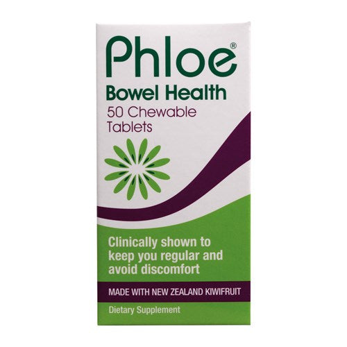 PHLOE Bowel Health Chewable 50tabs