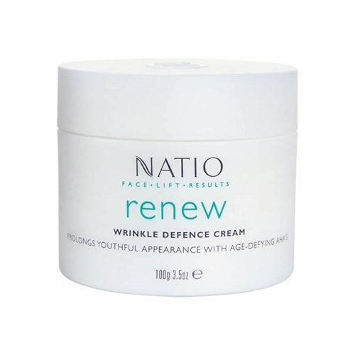 NATIO Facelift Renew Wrinkle Defence Cream 100g