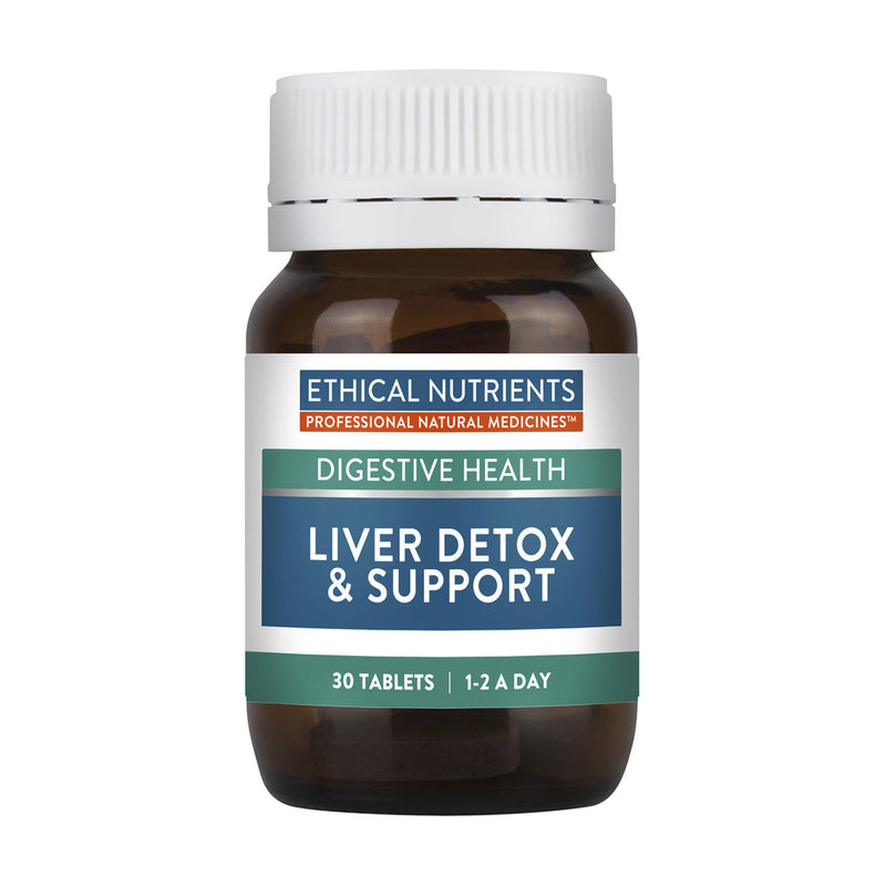 Ethical Nutrients Liver Detox & Support 30tabs