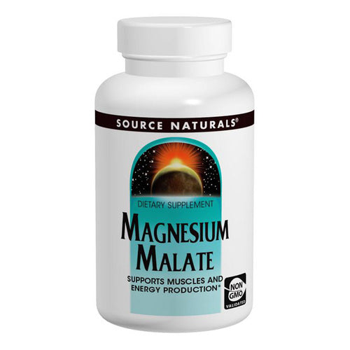 Source Naturals Magnesium Malate 180tabs
