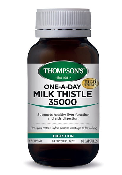 Thompson's One-A-Day Milk Thistle 42000mg 30caps