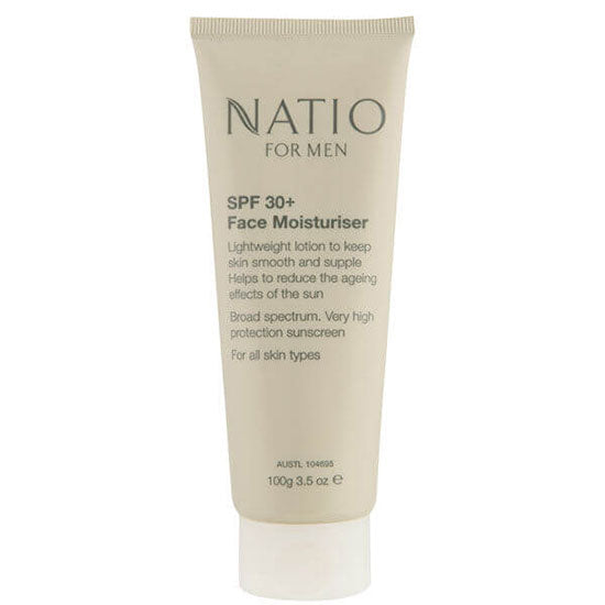NATIO Men 30+ Sunblock Face Moist.