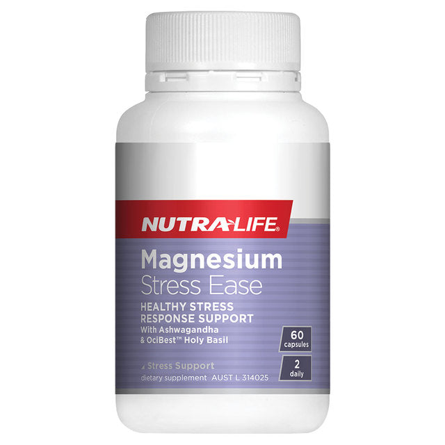 Nutra-Life Magnesium Stress Ease 60Cap