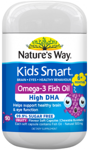 Nature's Way NZ - Kids Smart Omega-3 Fish Oil
