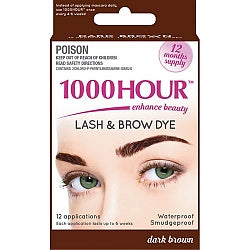 1000 Hour Eyelash/Brow Tint Dark Brown